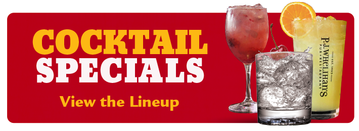 View Our Cocktail Specials