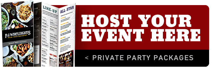 Host Your Next Party at PJ's