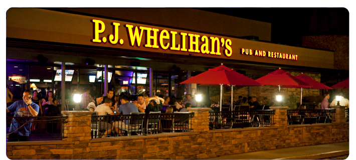 P J Whelihan S Pub And Restaurant Buffalo Wings Sports Bars Food To Go Private Parties Gift Cards Mobile Catering