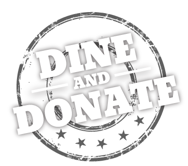 Dine and Donate, Earn 15% Back for Your Cause