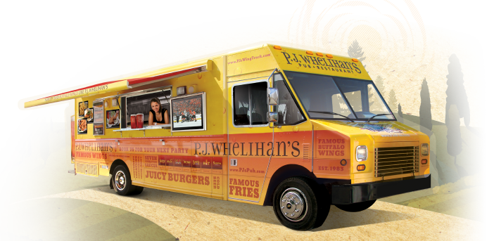 PJ's Wing Truck, We'll Bring the Party to You