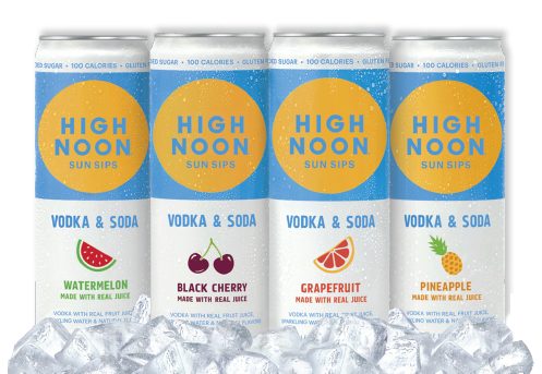 $6.50 High Noon Vodka + Soda