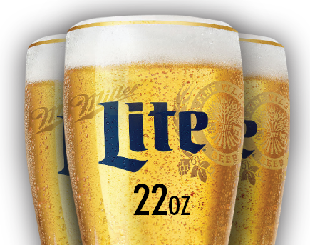 $3 Miller Lite 22oz Drafts Every Sunday