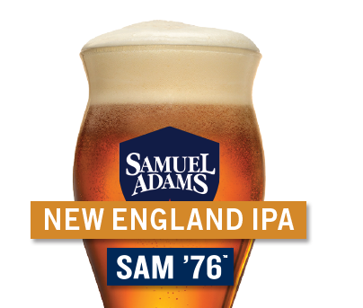 $4 Sam Adams Sam 76' + New Englad IPA