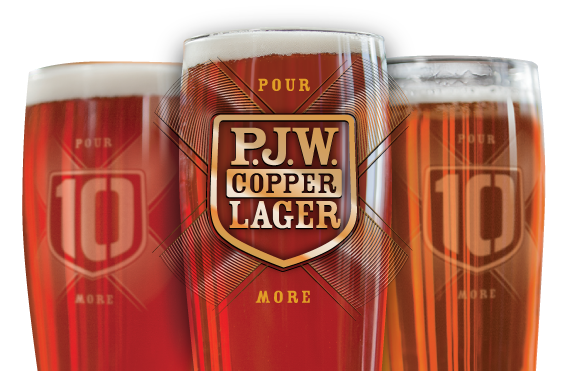 PJW Copper Lager $4 Every Day